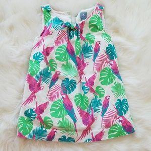 Baby GAP Cotton Tropical Dress sz 2T
